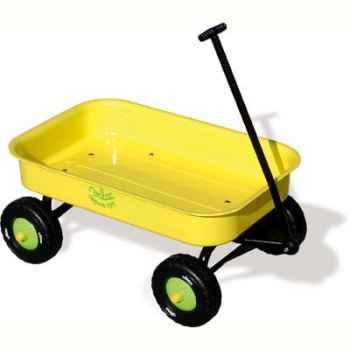 Chariot métal jaune - Vilac 1008