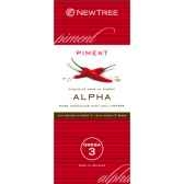 newtree chocolat alpha noir piment tablette 80g 341873