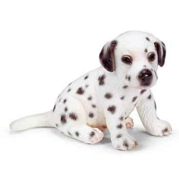 schleich-16348-Chiot dalmatien assis échelle 1:12
