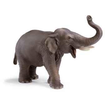 schleich-14144-Figurine Eléphant indien mâle