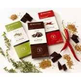 newtree lot de 3 chocolat tablettes 80g lotchoc