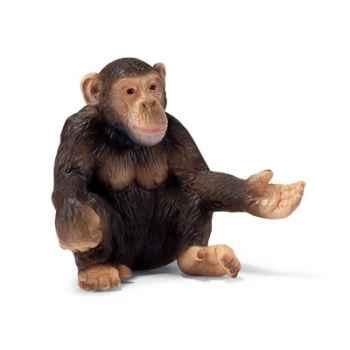 schleich-14191-Figurine Chimpanzé femelle
