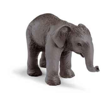 schleich-14343-Figurine bébé Eléphant de l'Inde