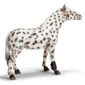 schleich 13617 jument knabstrupper