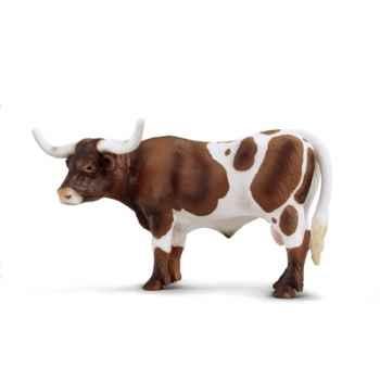 schleich-13275-Taureau Texan Longhorn