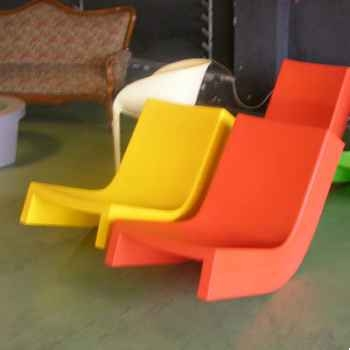 Chaise à bascule Jaune Twist Slide - SD TWS070