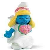 schleich 20412 figurine schtroumpf mariee
