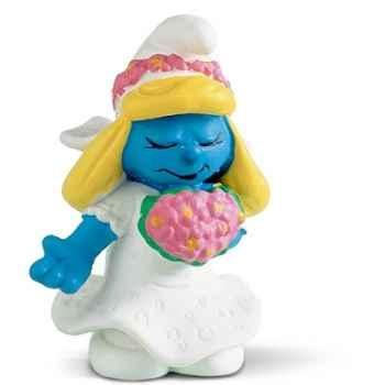 schleich-20412-Figurine schtroumpf mariée