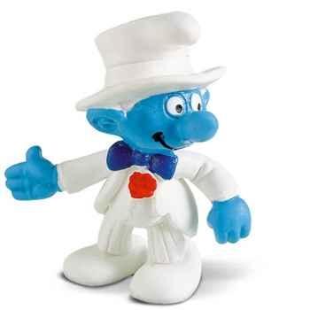 schleich-20413-Figurine schtroumpf marié