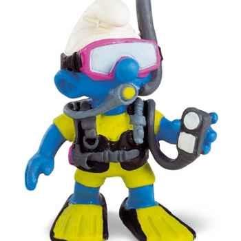 schleich-20466-Figurine schtroumpf plongeur