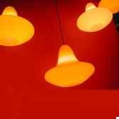 luminaire suspension sunday jaune slide sd sun060