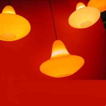 Luminaire suspension Sunday Jaune Slide - SD SUN060