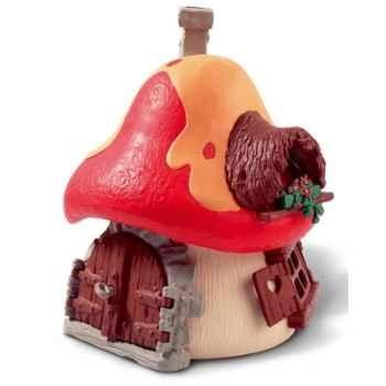 schleich-49001-Maison pour schtroumpf