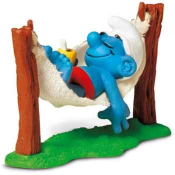 schleich-40226-Figurine schtroumpf avec hamac