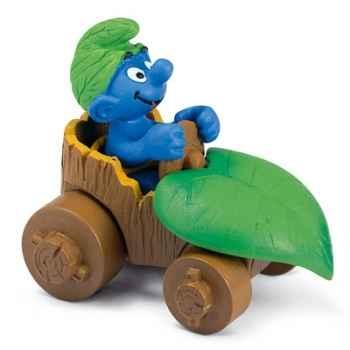 schleich-40264-Figurine schtroumpf en voiture
