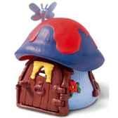schleich 49013 mini maison bleue pour schtroumpf