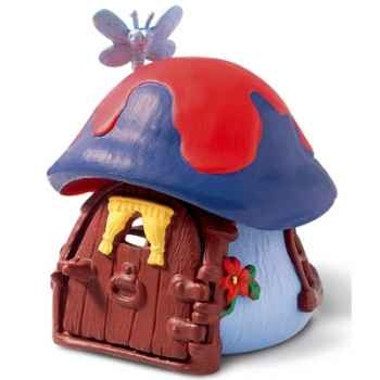 schleich-49013-Mini maison bleue pour schtroumpf