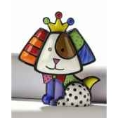 mini figurine chien royalty britto romero 331387