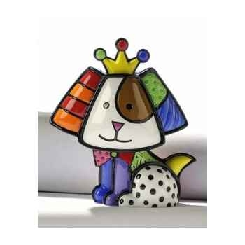 Mini figurine chien royalty Britto Romero -331387