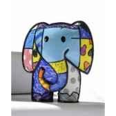 mini figurine elephant lucky britto romero 331381