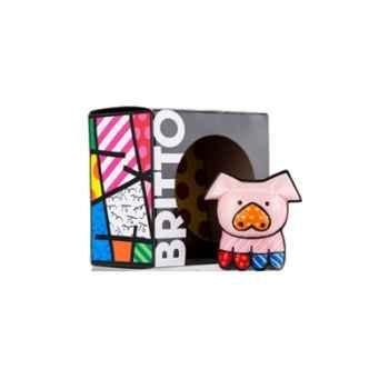 Mini figurine cochon perale Britto Romero -331386