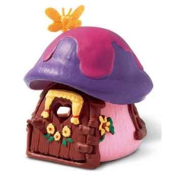 schleich-49014-Mini maison schtroumpfette