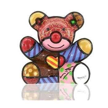 Mini figurine ours cœur love bear Britto Romero -331389