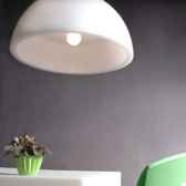 luminaire suspension cupole moyen modele slide sd mos080