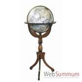 globe de bibliotheque decoration marine amf gl047