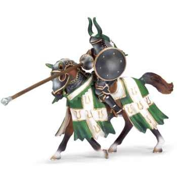 schleich-70047-Figurine Chevalier de tournoi, Taureau, échelle environ 1:20