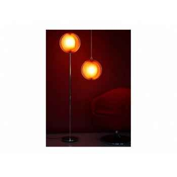 Lampe à suspension izia chrome Delorm Design
