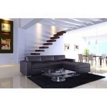 Salon d'angle bordeaux Delorm Design