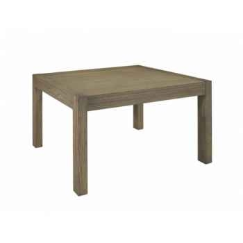 Table de repas carré collection ascun 130x130x76cm Delorm Design