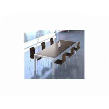 Table à manger ruup noyer Delorm Design