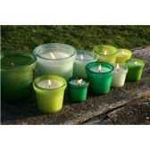 tour de table bougie moyen modele vert menthe