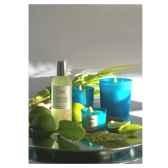 tour de table vaporisateur senteur gingembre citron vert