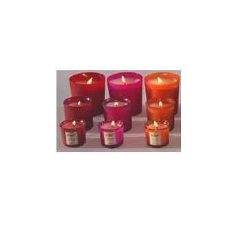 Tour de Table -Bougie moyen modèle senteur Géranium Rosat