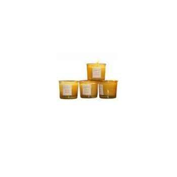Tour de Table -Bougie senteur Miel à la Fleur d'Oranger (petit modèle)