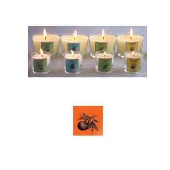 Tour de Table -Bougie senteur Mandarine (petit modèle)
