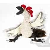 peluche coq chicken checker sigikid 38084