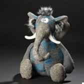 peluche elephant pocken paule sigikid 38246