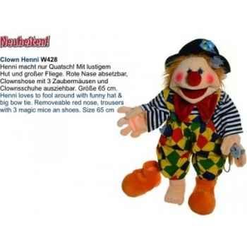 Marionnette Henni le clown Living Puppets -CM-W428