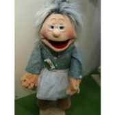 marionnette grand mere living puppets cm w501