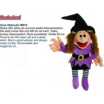 Marionnette Hexe waltrudis Living Puppets -CM-W413