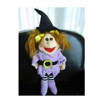 Marionnette Hexe la p\'tite sorcière Living Puppets -CM-W412