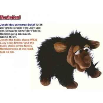 Marionnette Joschi le mouton noir Living Puppets -CM-W436