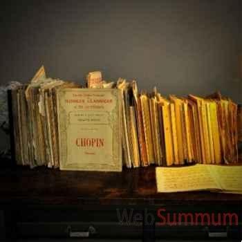 Livres partitions Objet de Curiosité -LIV011