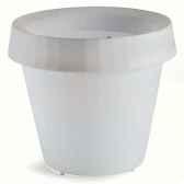 pot lumineux blanc gio tondo slide lp sfc090