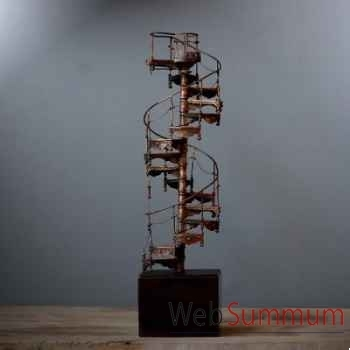 Escalier en colimaçon Objet de Curiosité -DA096
