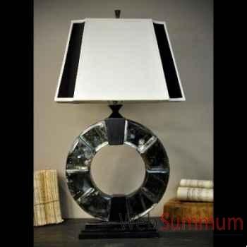 Lampe n&b en miroirs vieillis Objet de Curiosité -LU128